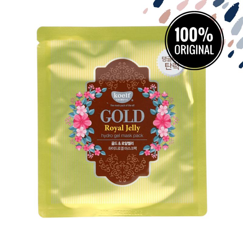 Гидрогелевая маска для лица с золотом и маточным молочком KOELF Gold & Royal Jelly Hydrogel Mask