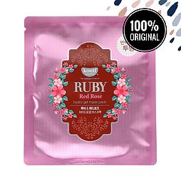 Гидрогелевая маска для лица с рубином и болгарской розой KOELF Ruby & Bulgarian Rose Hydrogel Mask