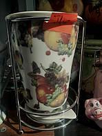 Керамическая сушка для столовых приборов с подонном, фото 1