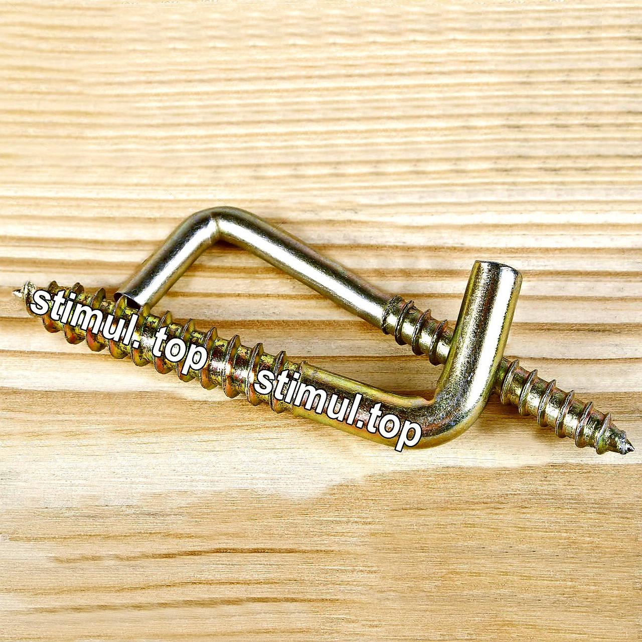 "Шуруп с прямым крючком 6 х 140 (100 шт/уп) / ""L"" образный крюк"
