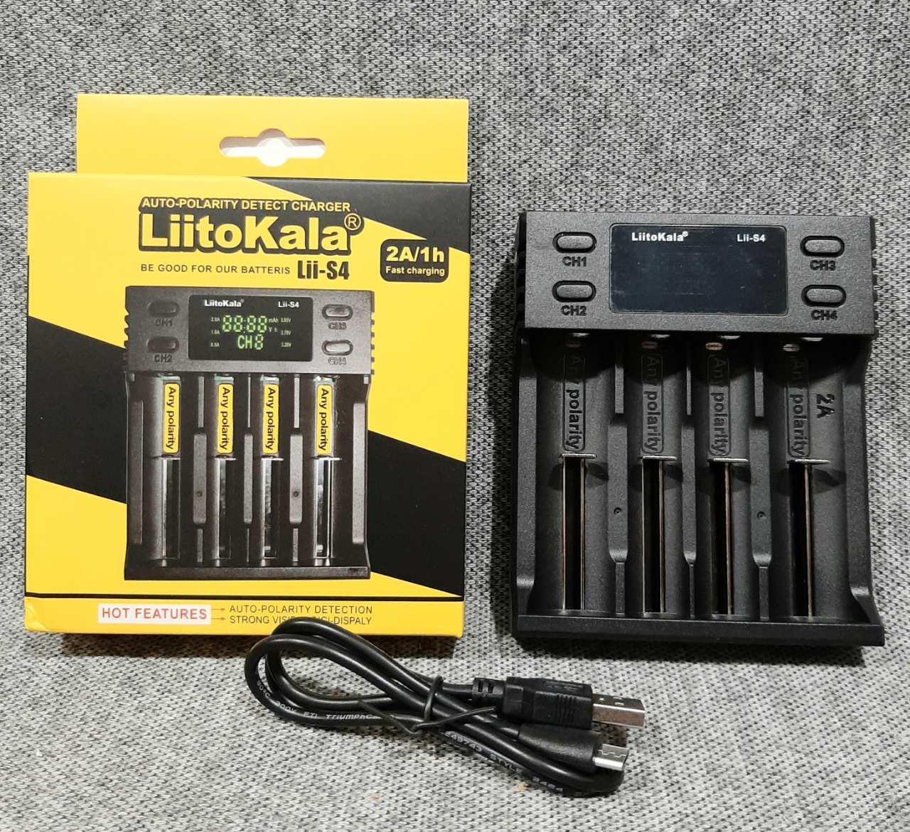 Зарядний пристрій LiitoKala lii S4