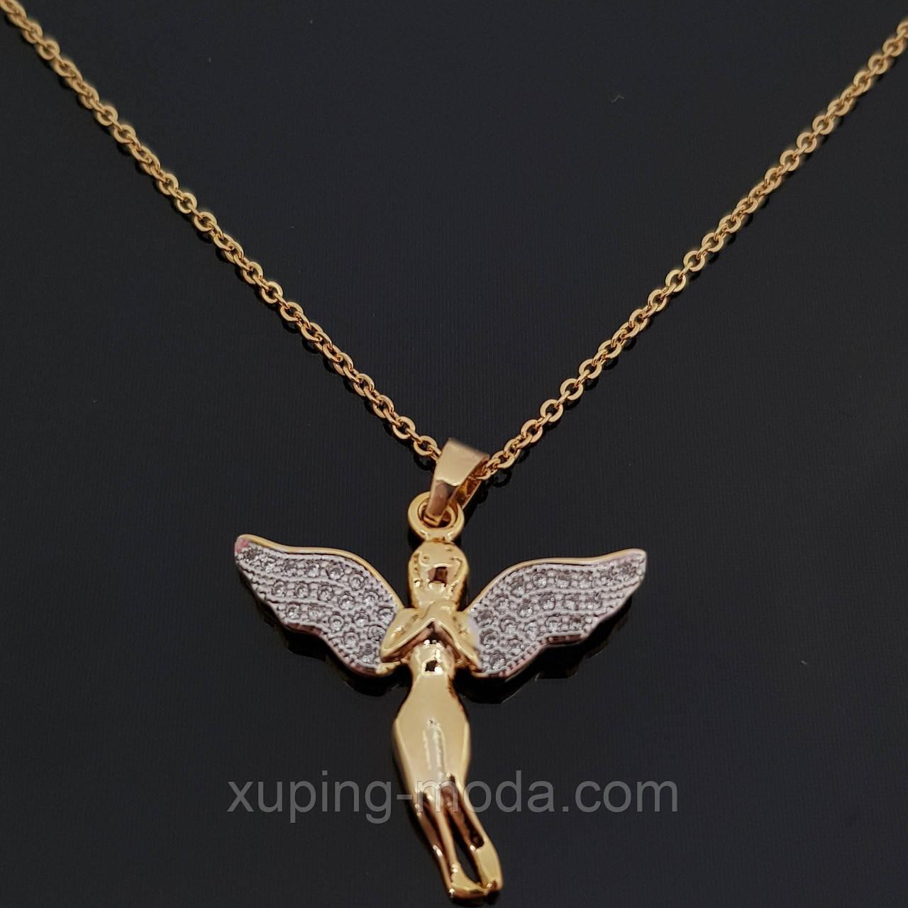 Кулон ангел. Цепочка с кулоном недорого