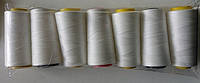 Нитки армовані білі (полі-полі, 45ЛЛ(28/2)) д/шиття_2500м_(особливо міцні)
