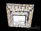 Квадратная хрустальная потолочная люстра 1080/3, фото 2