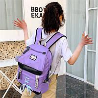 Школьный рюкзак HiFlash для девочек сиреневый