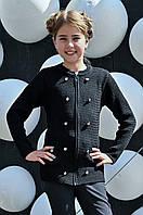 Вязаный пиджак  на молнии 32-44 размер, фото 1
