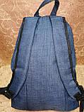 Рюкзак fila мессенджер с кожаным дном спортивный городской dzher.html Производитель: Украина  Материал:PVC мес, фото 3
