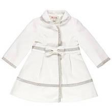 Детское пальто для девочки Одежда для девочек 0-2 BRUMS Италия 133beaa008 Белый