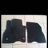 Ворсовые коврики в салон Nissan Leaf (Черные), фото 3