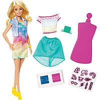 Кукла Барби дизайнер Цветной штамп (Barbie Crayola Color Stamp Fashions Set, Blonde)