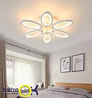 Люстра светодиодная потолочная 8889/6 led dimer 3 color