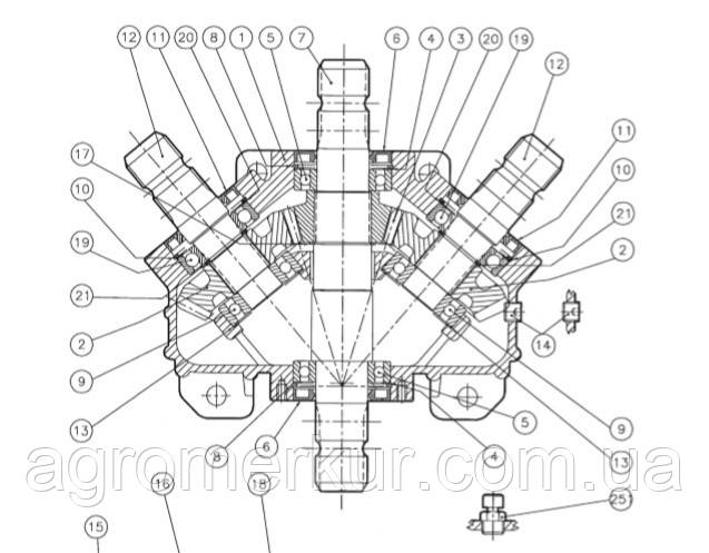 Шестерня вала редуктора Z27 540RPM  331-941
