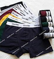 Мужские трусы Calvin Klein Modern Cotton 5 штук  в фирменных упаковке  Реплика