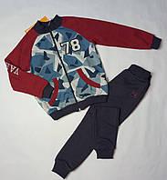Спортивный костюм утепленный на мальчика ТМ Бемби КС605