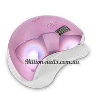Новинка!Профессиональная LED-лампа для сушки гелей и гель лаков SUN 5 48 вт хамелеон(розовый)