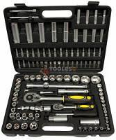 Набір ключів головок + тріщотки Інструменти MARPOL 108шт Инструменты Набор головок ключей с трещотками 108