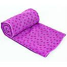 Йога-полотенце Yoga Mat Towel, фото 6