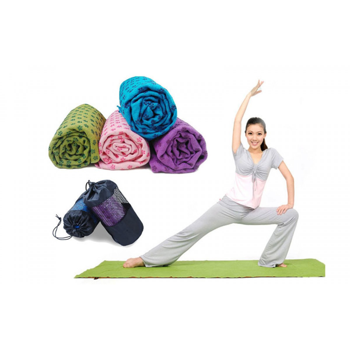 Йога-полотенце Yoga Mat Towel