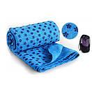 Йога-полотенце Yoga Mat Towel, фото 8