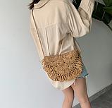 Плетеная сумочка на плечо, фото 2