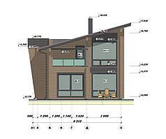 Проектирование деревянных домов из профилированного бруса. Проект дома бесплатно при заказе строительства