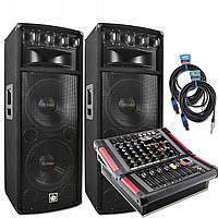 Комплект колонок Dibeisi Q1240 + PowerMikser Voice Kraft