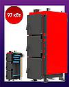 Котел тривалого горіння KRAFT L 97 кВт з автоматикою, фото 3