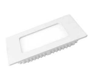 Врезной светильник (квадрат, 23см, 20W, нейтральный свет), фото 2