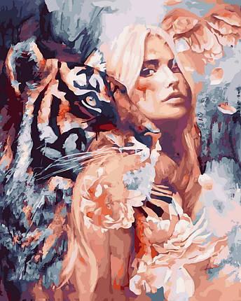 Картина по Номерам 40x50 см. Вместе с тигром Rainbow Art, фото 2