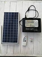 Светодиодный прожектор на солнечной батарее 25W