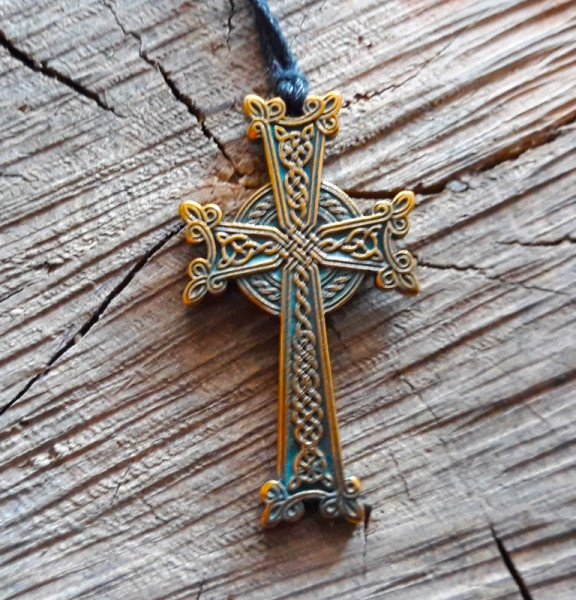 9210036 Подвеска Кельтский крест