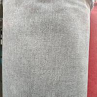 Флок Аляска меблевий ширина 150 см колір сірий, фото 1