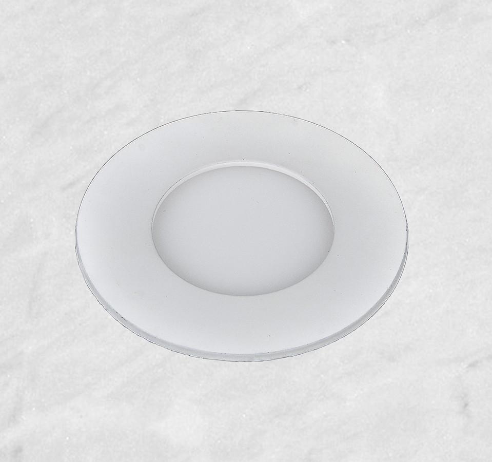 Врезной светильник (круг, 11см, 4W, тёплый свет)