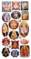 9040165 Стикеры (наклейки) на планшете с индуистскими богами