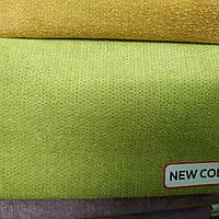 Флок  Аляска мебельный ширина 150 см цвет салат, фото 1