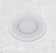 Врезной светильник (круг, 15см, 9W, холодный свет)