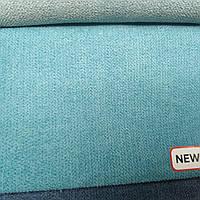 Флок  Аляска мебельный ширина 150 см цвет бирюза, фото 1