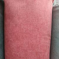 Флок  Аляска мебельный ширина 150 см цвет красный, фото 1