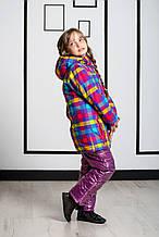 Детская куртка для девочки Верхняя одежда для девочек BRUGI Италия YK4M Красный
