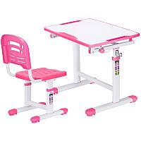 Комплект парта и стульчик Evo-kids Evo-07 Pink