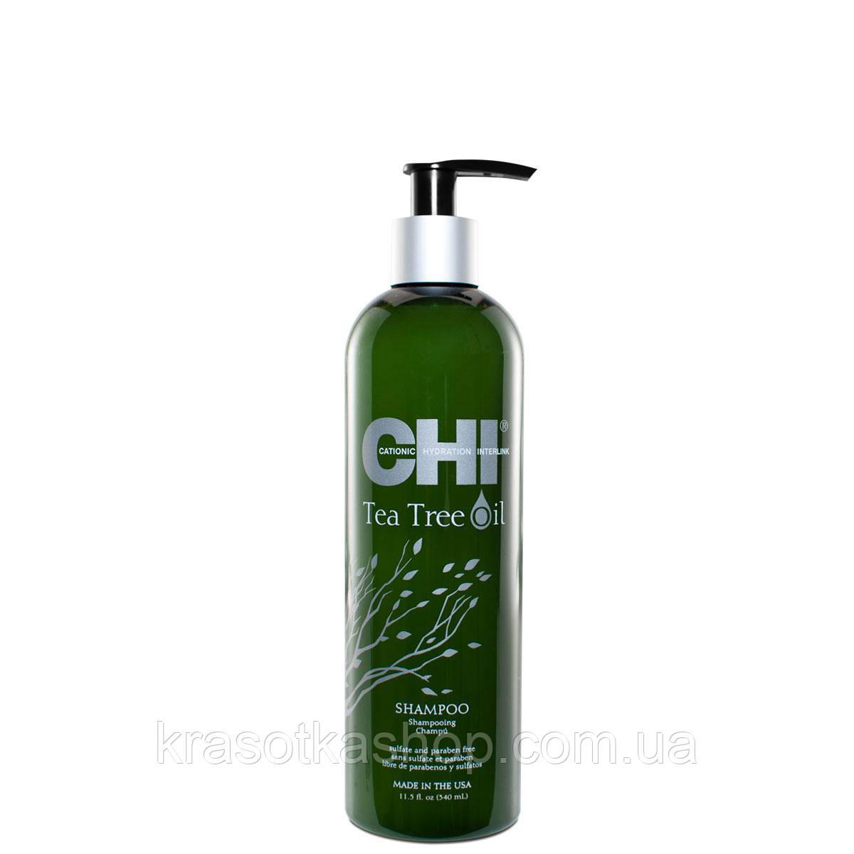 CHI Tea Tree Oil Шампунь с маслом чайного дерева 340 мл