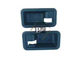 Накладка под внутреннюю ручку ВАЗ 2108,09,099 (мыльница, черная), 2шт