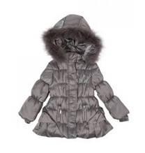Детская куртка для девочки Одежда для девочек 0-2 Artigli Италия А03251 Серый