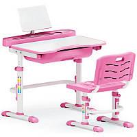 Комплект парта и стульчик Evo-Kids Evo-17 Pink