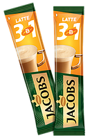 Кофейный напиток Jacobs 3 in 1 Latte 56 x 12 г
