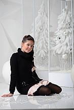 Нарядное платье для девочки JBE Италия 143BIIM003 Черный