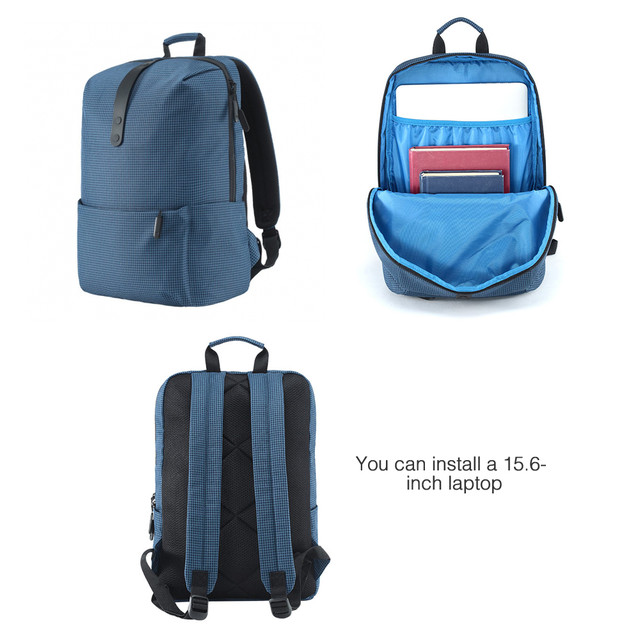 Рюкзак Xiaomi College Style Leisure Backpack 20L Cиний - Blue