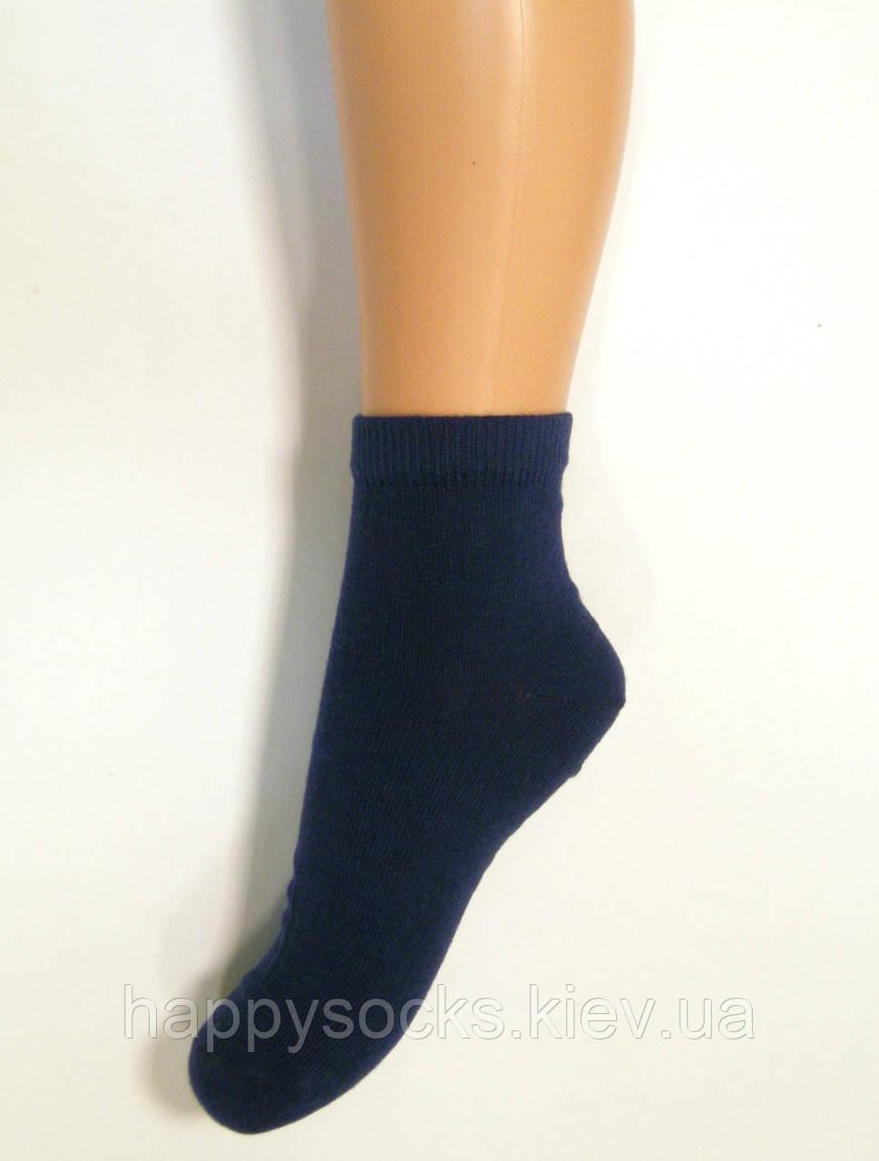 Носки средней длины детские темно-синего цвета