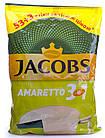 Кофейный напиток Jacobs 3 in 1 Amaretto 56 x 12 г, фото 2
