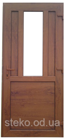 Входные пластиковые двери Steko S-400 2050*900 габарит